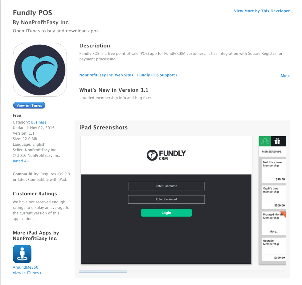 Activate iOS POS APP Integration – Fundly Support Center